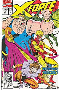 X-Force - Marvel comics.  # 5 Dec. 91 (Image1)