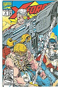 X-Force - Marvel comics -  # 9  April 1992 (Image1)