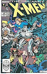 X-Men - Marel comics - # 235  Oct. 1988 (Image1)
