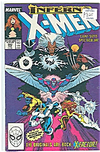 X-Men - Marvel comics - # 242  March 1989 (Image1)
