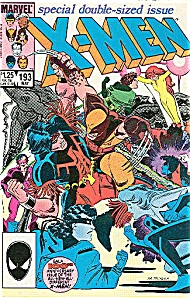 X-Men - Marvel comics - # 193  May 1985 (Image1)