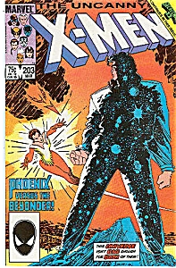 X-Men - Marvel comics  # 203 March 1986 (Image1)