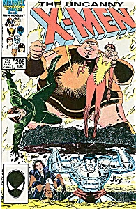 X-Men - Marvel comics - # 206 June  1986 (Image1)