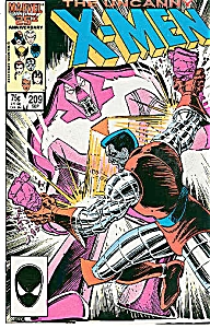 X-Men, Marvel comics  # 209  Sept. 1986 (Image1)