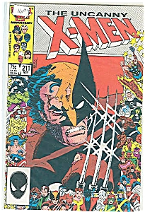 X-Men - Marvel comics  Nov. 1986  #211 (Image1)