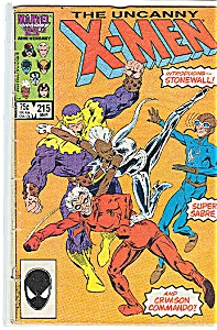 X-Men,  Marvel Comics -  # 215  March 1987 (Image1)