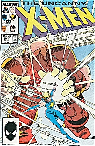 X-Men  Marvel Comics -  # 217 May  87 (Image1)