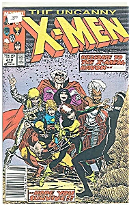 X-Men -   Marvel comics  #219  July 1987 (Image1)
