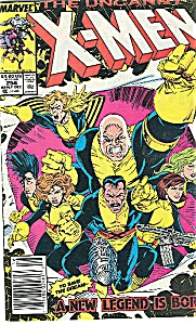 X-Men, Marvel comics.  # 254   1989 (Image1)