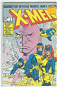 OFFICIAL MARVEL INDEX TO THE X-MEN 1987 #1 (Image1)