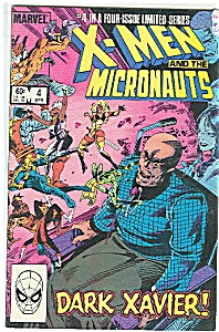 X-Men and the Micronauts- Marvel comics-#4 '84 (Image1)