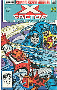X-Factor -  Marvel comics - # 3  1988 (Image1)