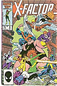 X-Factor - Marvel  comics  - Octr. 1986  # 9 (Image1)