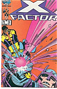 X-Factor - Marvel comics -  # 14  March 1987 (Image1)