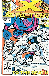 X-Factor - Marvel comics - # 49  Dec. 1989 (Image1)