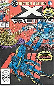 X-Factor - Marvel comics - # 61   Dec. 1990 (Image1)