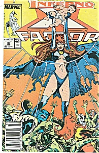 X-Factor - Marvel comics - # 37  Feb.  1989 (Image1)