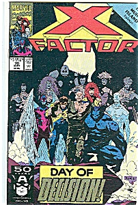 X-Factor   Marvel comics -  # 70 Sept. 1991 (Image1)