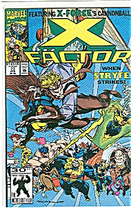 X-Factor - Marvel comics   # 77 April  1992 (Image1)