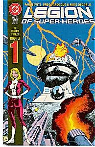Legion of super-heroes - DC comics - # 32 March 1987 (Image1)