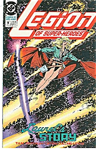 Legion of super-heroes - DC comics- #9 July 1990 (Image1)