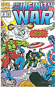 THE  INFINITI WAR - mARVEL COMICS  #4   Sept.92 (Image1)