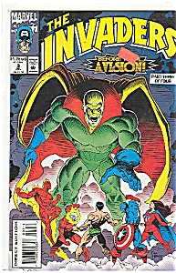The Invaders -  Marvel comics.  # 3  July 1993 (Image1)