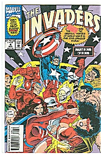 The Invaders - Marvel comics - # 4 Aug. 1993 (Image1)