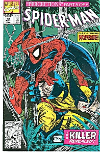 Spider-Man  -marvel comics - # 12    July  1991 (Image1)
