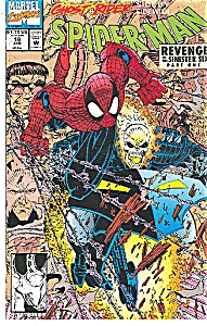 Spider-Man   Marvel comics   # 18  Jan. 1992 (Image1)