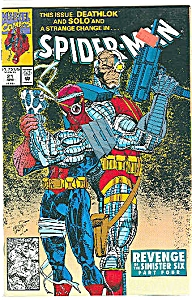 Spider-Man   Marvel comics   # 21   April 1992 (Image1)