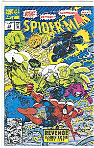 SPIDER-MAN MARVEL COMIC #22 1992 REVENGE MINT (Image1)