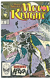 Moon Knight - marvel comics -  #3 Aug. 1989 (Image1)