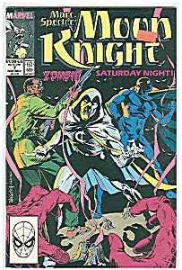 Moon Knight - Marvel comics -  # 7 Nov. 1989 (Image1)