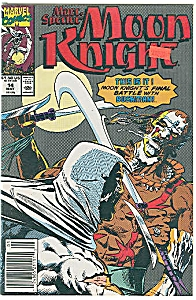 Moon Knight - Marvel comics -  # 14 - May 1990 (Image1)
