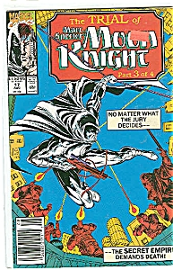 Moon Knight - Marvel comics -  # 17   August. 1990 (Image1)