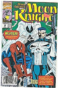 Moon Knight - Marvel comics.   Oct. 1990  # 19 (Image1)