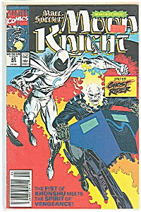 Moon Knight - Marvel comics -  April 1991   # 25 (Image1)