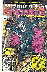 MORBUS  - Marvel comics    # 1 Sept.  1992 (Image1)