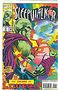 Sleepwalker - Marvel Comics - Dec. 1993 # 31