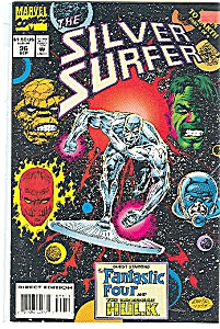 SILVER SURFER  - Marvel comics  # 96   Sept. 1994 (Image1)
