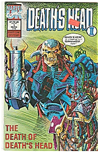 DEATH'S HEAT - Marvel comics - # 1 March  1992 (Image1)