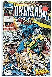 DEATH' S  HEAT  - Marvel comics - # 1 Dec. 1992 (Image1)