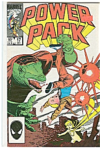 Power Pack - Marvel Comics - # 17 Dec. L985