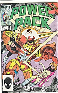 Power Pack - Mar Vel Comics - # 18 Jan. 1986