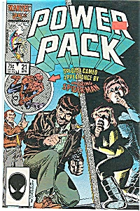 Power Pack - Marvel Comics - # 2l April 1986