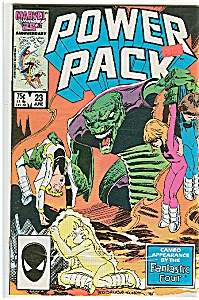 Power Pack - Marvel comics - # 23 June 1986 (Image1)
