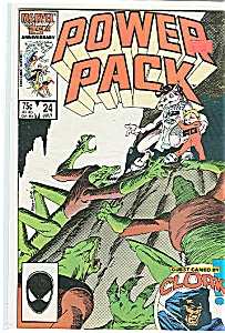 Power Pack - Marvel Comics - July 1986 # 24