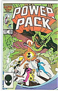 Power Pack - Marvel Comiccs Aug 1986 =# 25