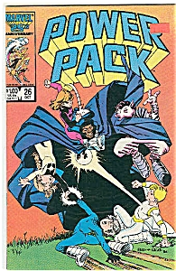 Power Pack - Marvel Comics Oct. 1986 # 26